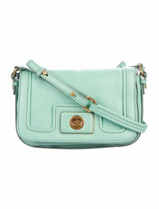 Marc Jacobs Leather Crossbody Bag Green