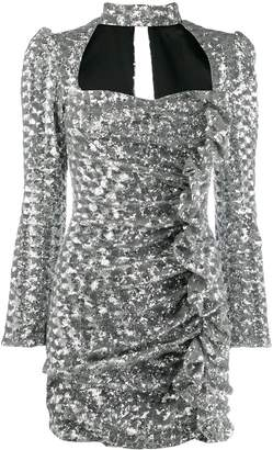 Giuseppe Di Morabito ruffle sequin dress