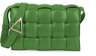 Bottega Veneta The Cassette Padded Leather Crossbody Bag