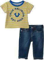 True Religion 2Pc T-Shirt & Pant Set