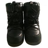 Moncler Black Ankle boots