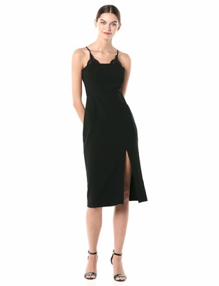 Finders Keepers findersKEEPERS Women's Kobie Bodycon Sheath Midi Dress