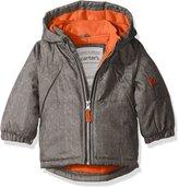 Carter's Boys' Infant Heavyweight Active Texture Jacket, Grey