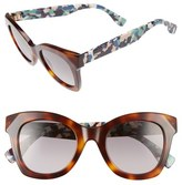 Fendi Women's 48Mm Chromia Retro Sunglasses - Havana