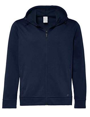 Puma CARE OF by Men's Hooded Water Resistant Fleece Jacket, (Blue), (Size:XL)