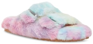Steve Madden Women's Around Double-Band Footbed Slippers