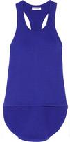 Tim Coppens Ribbed Cotton-blend Tank - Royal blue