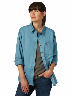 Riggs Workwear Women's Long Sleeve One Pocket Workshirt