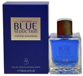 Antonio Banderas Blue Seduction by Eau de Toilette Men's Spray Cologne - 3.4 fl oz