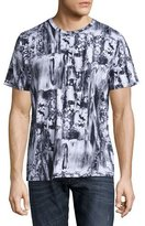 Diesel T-Joe-HG T-Shirt, Black/White