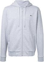 Lacoste zipped hoodie - men - Cotton - 5