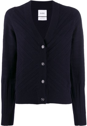 Barrie V-neck knit cardigan
