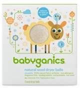 BabyGanics 3-Pack Laundry Dryer Balls in White