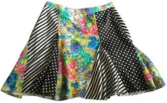 Aquazzura Yellow Viscose Skirts