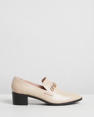 Atmos & Here Tara Leather Loafers