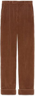 Gucci Regular fit corduroy pant