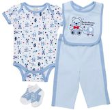 Baby Gear Animal Bodysuit Set - Baby Boy