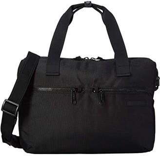 Pacsafe Intasafe Slim Brief Anti-Theft Laptop Brief (Black) Bags