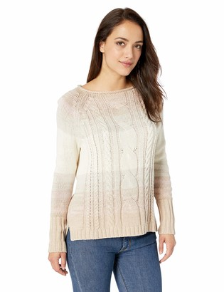 Chaps Women's Fashion Long Sleeve Cotton Blend Rollneck Sweater