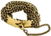 "8 Other Reasons Koko"" Goldtone Chain Lobster Clasp Closure Bracelet, 7.5"""