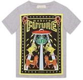 Gucci Boy's Modern Future Graphic Print T-Shirt