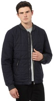 Red Herring Navy Quilted Cotton Bomber Jacket