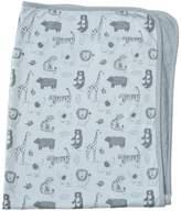 Lucky Jade Blue Animal Blanket