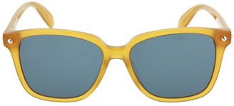 Alexander McQueen 53mm Square Sunglasses