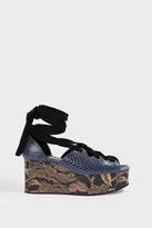 Erdem Wren Platform Sandals