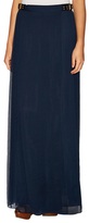Diane von Furstenberg Bethune Silk Gathered Maxi Skirt