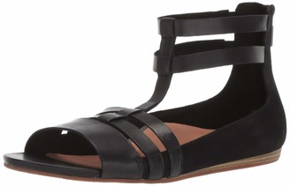 SoftWalk Women's Cazadero Sandal Black 9.0 W US