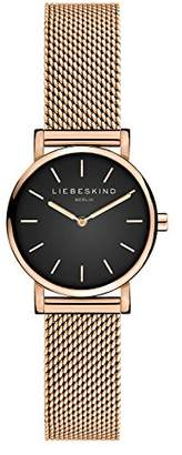 Liebeskind Berlin Womens Analogue Quartz Watch with Stainless Steel Strap LT-0137-MQ