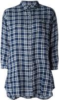 Woolrich checked shirt - women - Linen/Flax - M