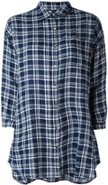 Woolrich checked shirt - women - Linen/Flax - XS