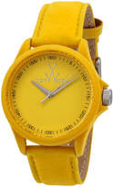 Toy Watch ToyWatch Sartorial Washed Leather Watch, Yellow