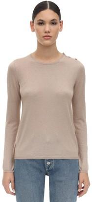 Max Mara Berma Silk & Cashmere Knit Sweater