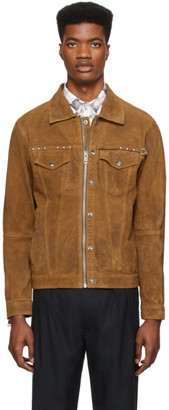 Diesel Brown Leather L-Dean Jacket