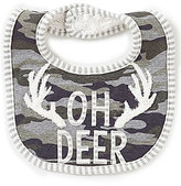 Mud Pie Baby Boys Oh Deer Camo Bib