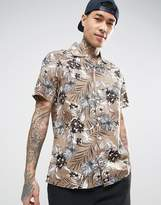 Dickies Shirt With All Over Floral Print In Regular Fit