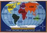 Fun Rugs Fun Time Kids World Map Rug - 2'7'' x 3'11''