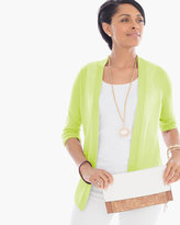 Chico's Rita Side-Ruched Cardigan