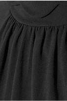 J.W.Anderson Scalloped stretch-crepe peplum dress