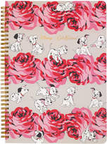 Cath Kidston Puppies and Roses A4 Spiral Bound Notebook