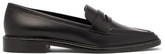 Fabrizio Viti - Penny Leather Loafers - Black
