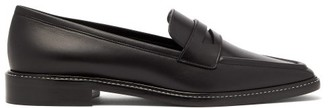 Fabrizio Viti - Penny Leather Loafers - Womens - Black