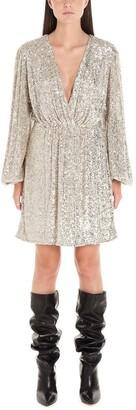 In The Mood For Love Sequinned V-Neck Mini Dress
