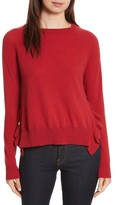 Autumn Cashmere Women's Cashmere Side Ruffle Sweater