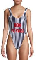 Private Party Bon Voyage One Piece Swimsuit