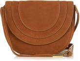 Diane von Furstenberg Large Bullseye leather messenger cross-body bag