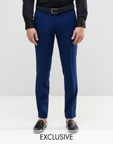 ONLY & SONS Skinny Smart Pants with Stretch and Turn Up